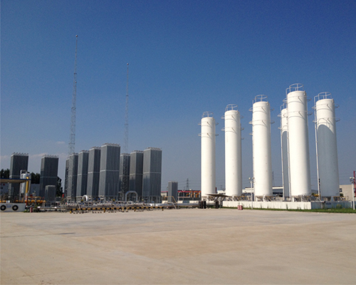 jiangsuLNG gasification station project