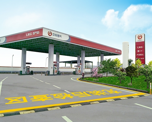 Standard LNG air filling station