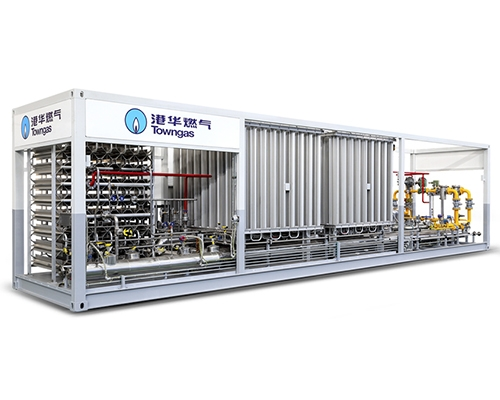 Pry mounted LNG gasification and pressure regulating equipment