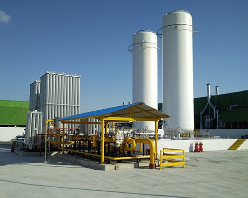 LNG gasification station project